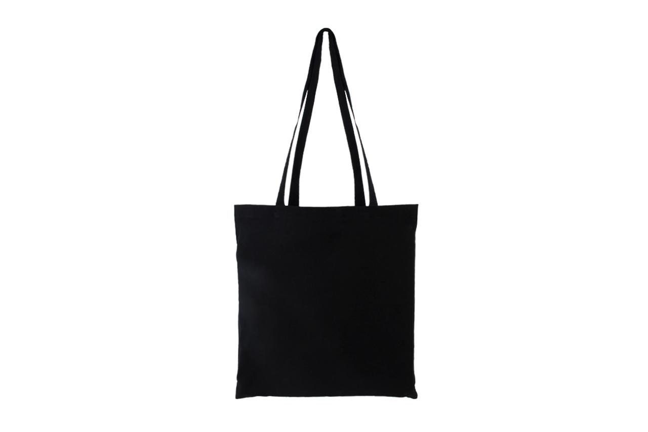 Black Cotton Bag (5oz)