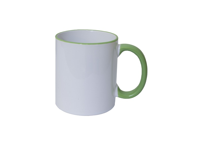 Colour Handle Ceramic Mug