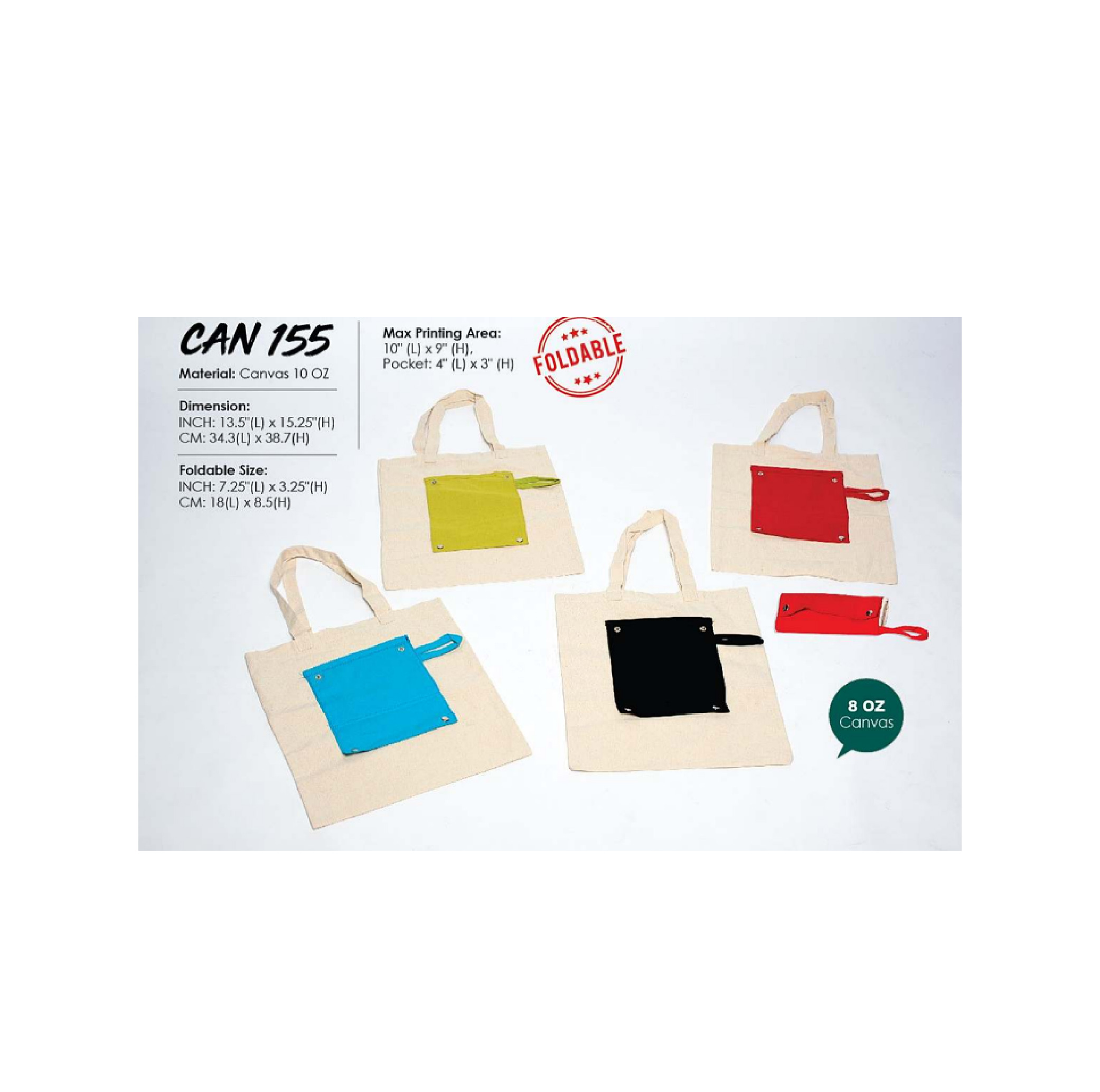 Foldable Canvas Bag