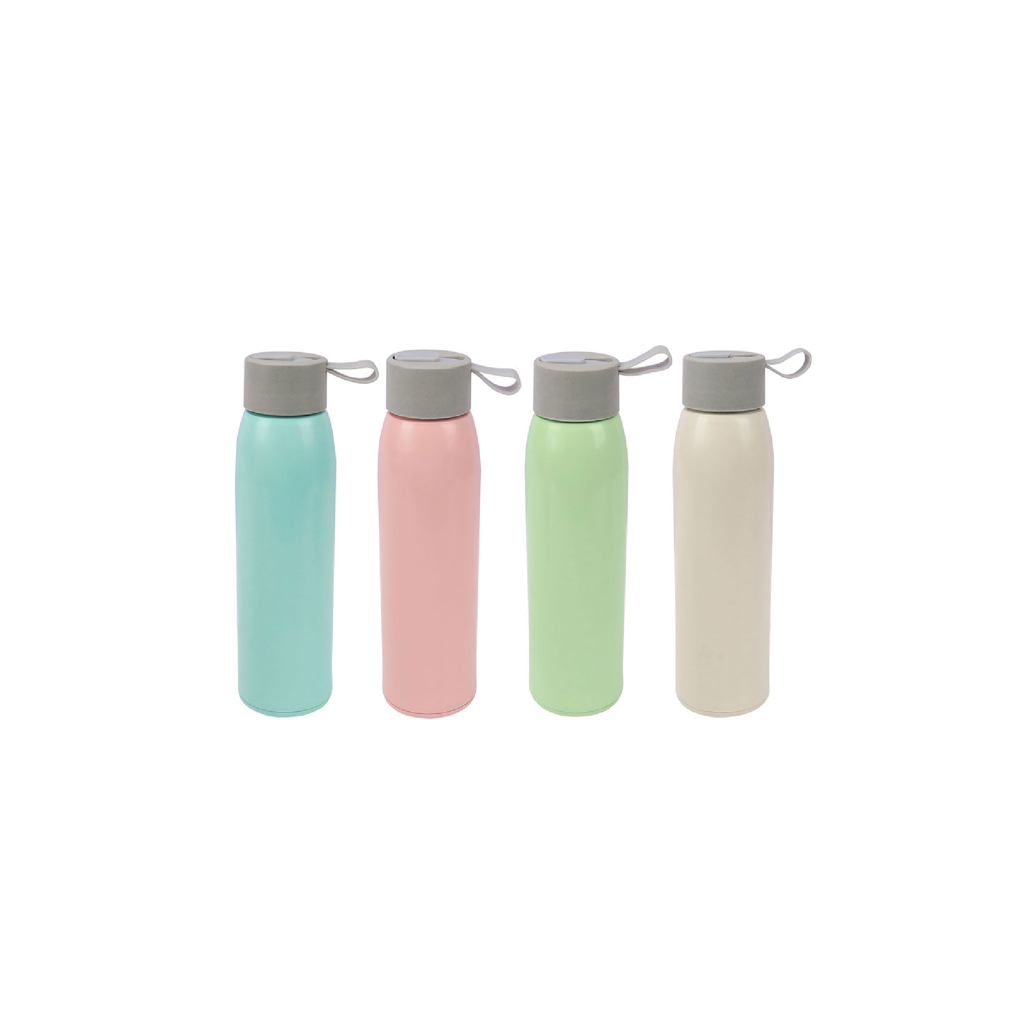 Ultra Slim Bamboo Glass Bottle