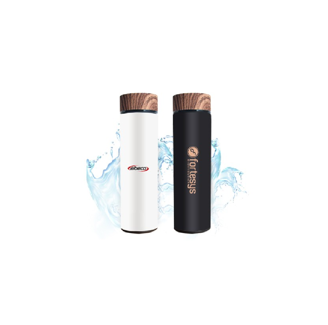 WOOD Stainless Steel Thermos